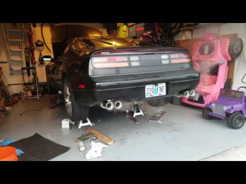 Nissan 300zx NA headers and full Labree exhaust sound