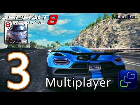Asphalt 8: Airborne Walkthrough - Multiplayer Part 3 - S Class Koenigsegg Agera R Gameplay