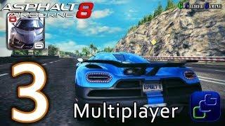Asphalt 8: Airborne Walkthrough - Multiplayer Part 3 - S Class Koenigsegg Agera R Gameplay