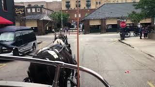 Carriage ride through Charleston 5/31/18