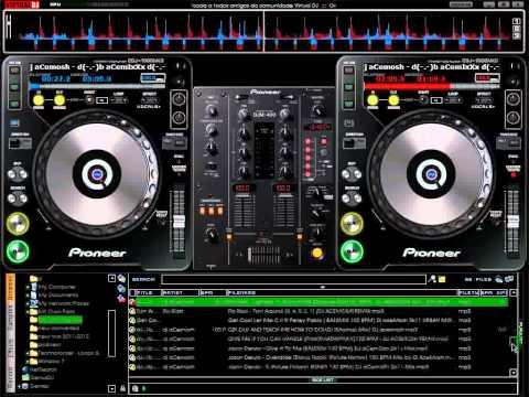 Nonstop Disco Mix on Virtual dj 7 By DJ ACEMOSH