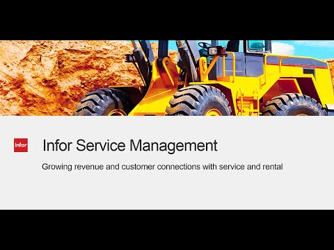 ISM Infor Service Management Overview Demo - 14 Minutes
