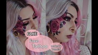 FAKE FACE TATTOO MAKEUP - Schminken mit Schinken
