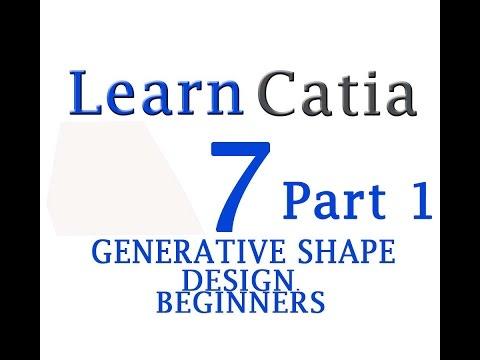Learn catia V5 Tutorials for beginners :