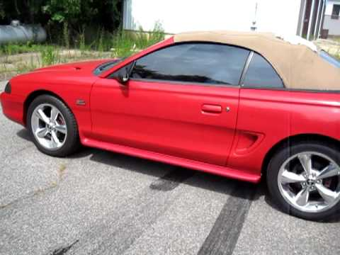 Ford Mustang   Gt Convertible For Sale Ebay