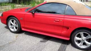 1995 FORD MUSTANG 5.0 GT CONVERTIBLE For Sale eBay