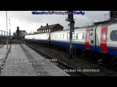 Season 8, Episode 71 -  Trains at Derby station