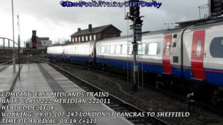 Season 8, Episode 71 -  Trains at Derby station
