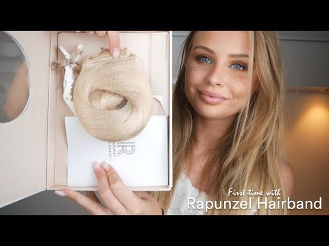Amanda Strand tries Rapunzel Hairband for the first time thumbnail