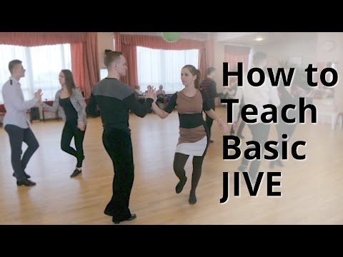 Workshop - How to do Basic Jive for Beginners   Latin Dance