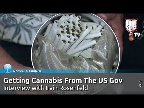 Getting Cannabis From The US Federal Government - Irvin Rosenfeld #MMJ Interview- SmokersGuideTV USA