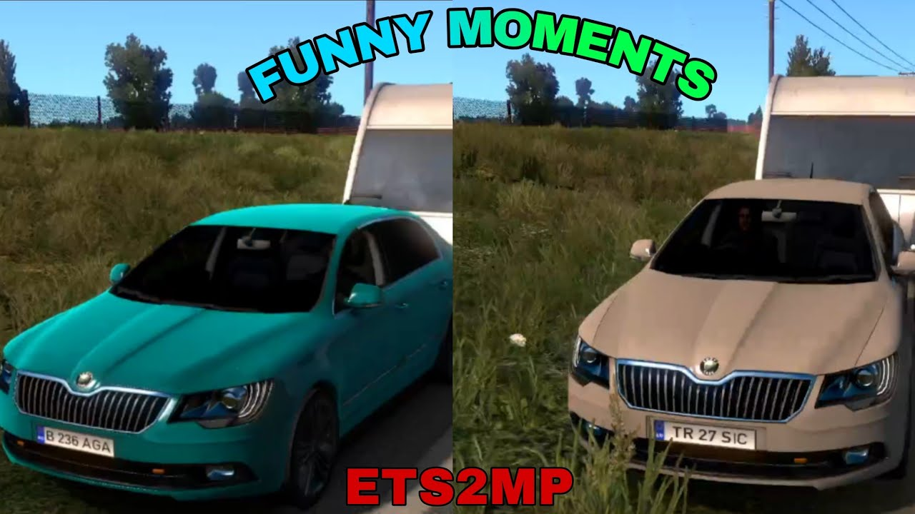 ETS2MP | Funny Moments #1