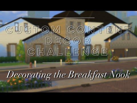 Custom Content Decor Challenge: Decorating the Breakfast Nook