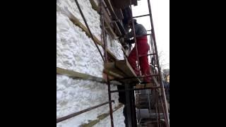 Утепление фасада паропроницаемой пеной Айсинин(http://eco-pena.com/ Герметичное утепление пеной под вентилируемый фасад. Делаем энерго аудит, утепляем, ликвидируе..., 2015-05-19T19:24:00.000Z)