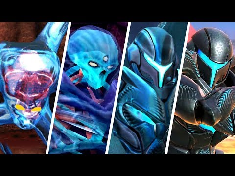 Evolution of Dark Samus (2002 - 2018)