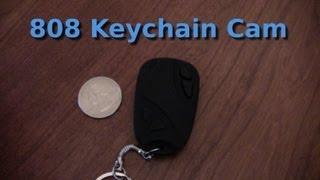 How to use the 808 keychain spy camera