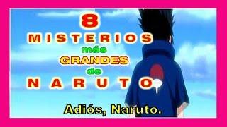 TOP 8 GRANDES MISTERIOS de NARUTO  | Yari San