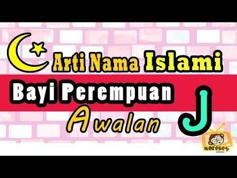 nama bayi perempuan islam dan artinya 2018 awalan j
