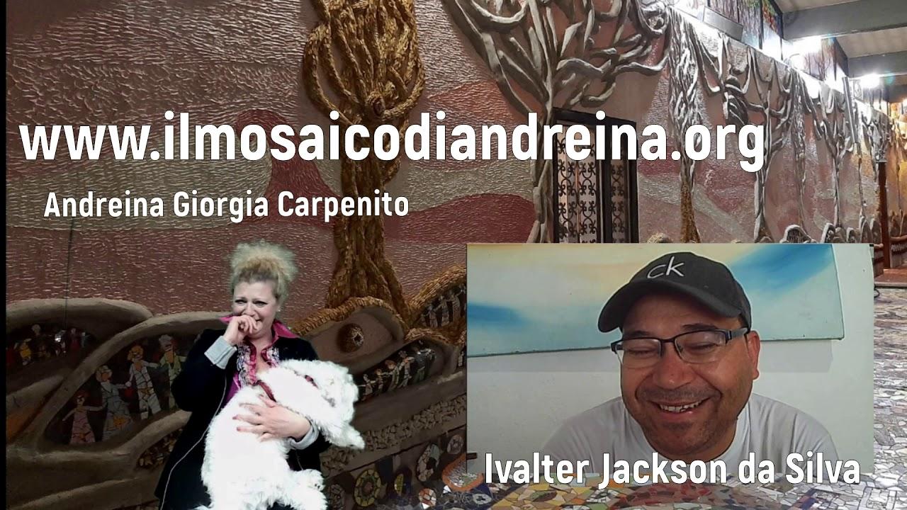 Storie del mosaico: intervista con Ivalter Jackson da Silva dal Brasile