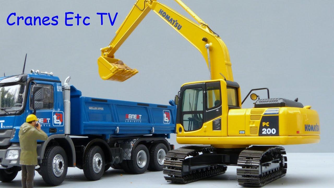 Nzg Komatsu Pc200 8 Excavator By Cranes Etc Tv