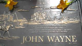 John Wayne's grave
