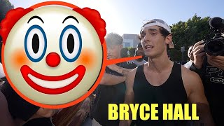 Bryce hall making himself look like an idiot for a minute straight