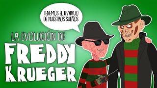 La evolución de FREDDY KRUEGER (Animada)