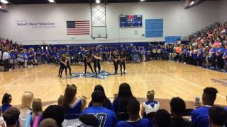 Officer Pep Rally 10-7-16