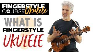 what is fingerstyle ukulele? thumb? fingers? strumming?