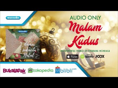 Christmas Instrumental Piano/Malam Kudus - Dharana Moniaga (Audio)