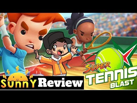 Super Tennis Blast Nintendo Switch Review | Xbox One | Ps4 | PC| Steam Gameplay