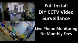Full Install CCTV Security Sys…