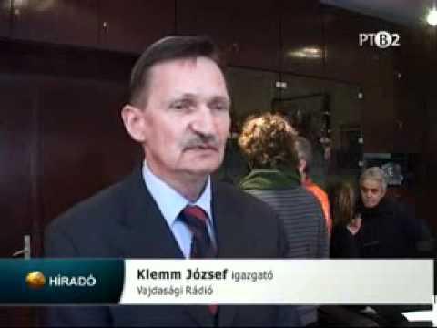 A magyar Radio munkatarsai az Ujvideki Radioban