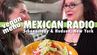 vegan menu @ MEXICAN RADIO in upstate NY