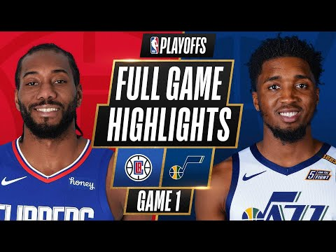#4 CLIPPERS at #1 JAZZ   FULL GAME HIGHLIGHTS   June 8, 2021