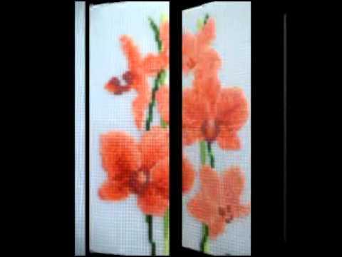 Вышивка крестом Орхидея
