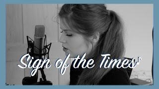 Sign of the Times - Harry Styles - cover by Izzie Naylor