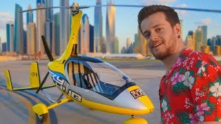 FLYING CAR USED! (DUBAI INTERESTING EXPERIENCE)