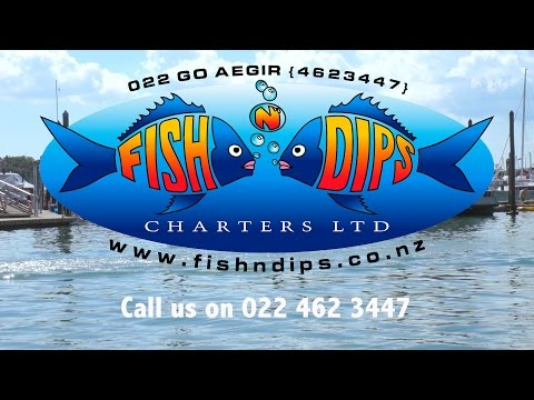 Fish 'n Dips Fishing Charters Auckland, NZ, 0224623447