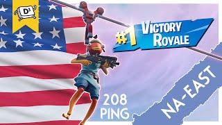 Getting A Win in AMERICA! Ep 3 - NA-East (Fortnite Battle Royale)