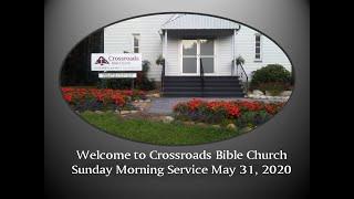 Sunday Morning May 31, 2020