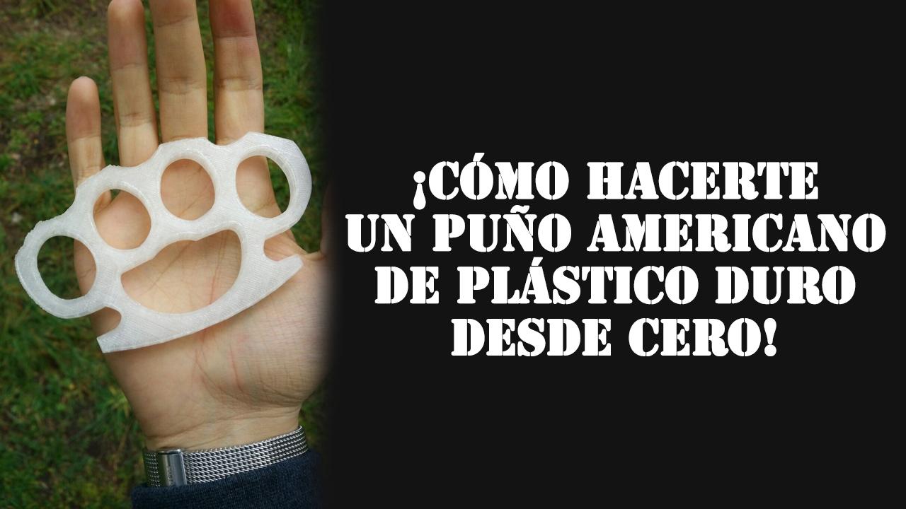 Plantilla Puño Americano