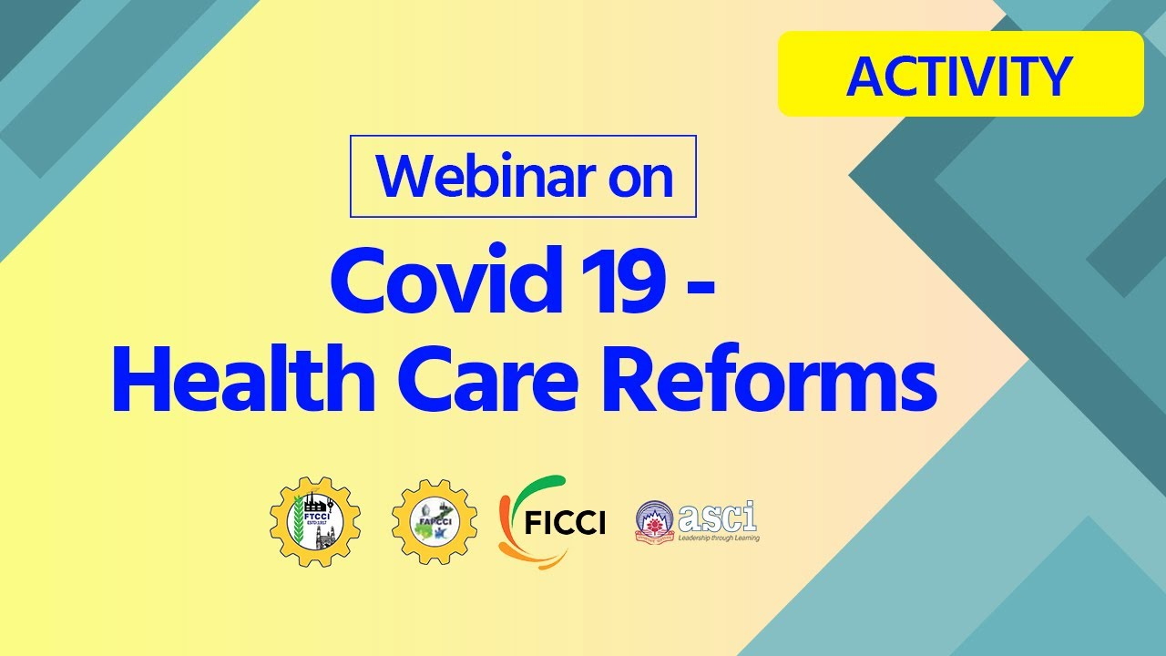 Dr Harsh Vardhan addresses webinar on 'COVID19 Healthcare Reforms' organised by FTCCI & FAPCCI