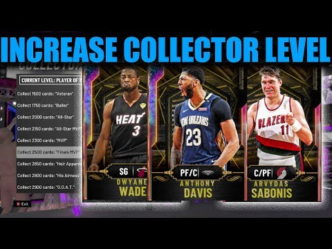 INCREASE YOUR COLLECTOR LEVEL FAST WITH THESE TIPS! NBA 2K20 MY TEAM