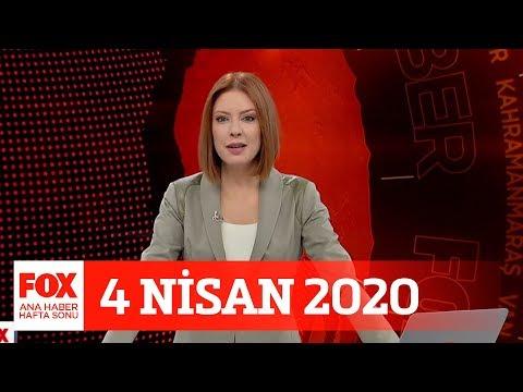 Koronavirüse Yeni önlemler... 4 Nisan 2020 Gülbin Tosun Ile FOX Ana Haber Hafta Sonu