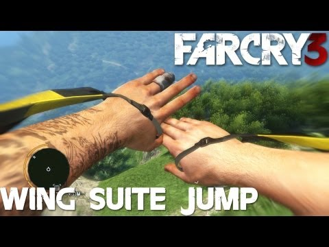 Far Cry 3 Longest Wing Suit Jump (PC Ultra)