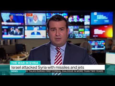 Syrian regime says Israel hits its territory with jets and missiles
