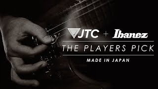 "Ibanez & JTC Guitar Collaborate on ""THE PLAYERS PICK"""