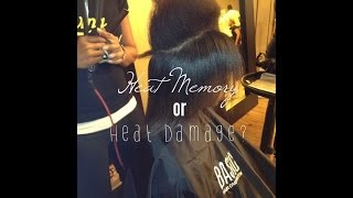Heat Damage or Heat Memory? | Natural Hair
