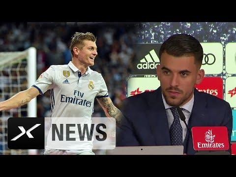 "Real-Madrid-Neuzugang Dani Ceballos: ""Will wie Toni Kroos sein"" | Real Madrid | Betis Sevilla"